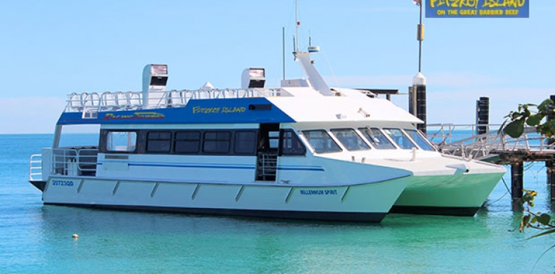 Raging Thunder: Fitzroy Island Return Ferry Transfer » Travellers Contact Point